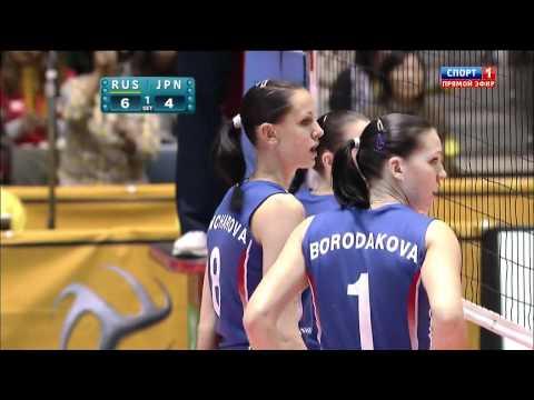 Japan vs Russia - WOMEN
