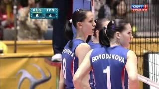 Japan vs Russia - WOMEN'S WORLD CHAMPIONSHIP JAPAN 2010