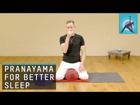 Easy trick to fall asleep, Pranayama with James Reeves