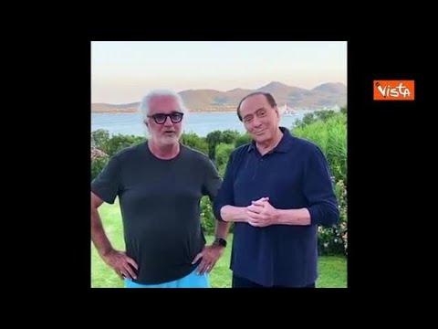 Corriere della Sera: Briatore e Berlusconi insieme: «Sono venuto a trovare il mio amico, ti trovo in forma Silvio»