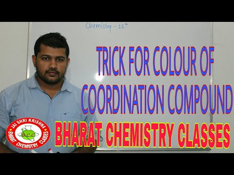 BEST TRICK FOR COLOUR OF COORDINATION COMPOUNDS AND D-BLOCK ELEMENTS | BHARAT PANCHAL SIR