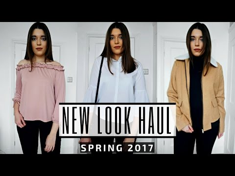 New Look Fashion Haul & Try On (Spring Edition 2017) | Madeleine Yates
