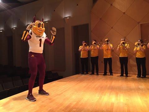 Maroon and Gold - Arizona State University Fight Song with the ASU Desert Bones Trombone Choir
