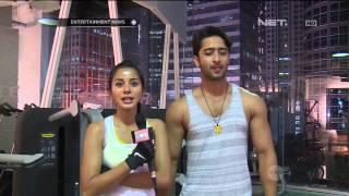 Kirana Larasati Dan Shaheer Sheikh Olahraga Bersama