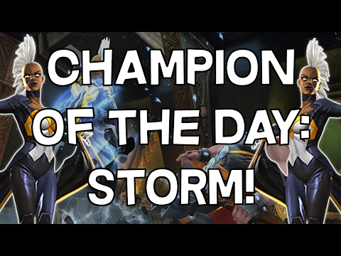 Champion Of The Day: Storm - Marvel Contest Of Champions
