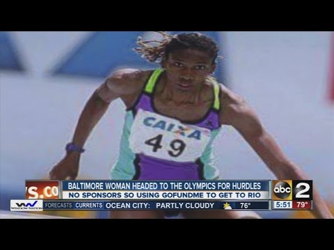 Baltimore woman headed to the Olympics for hurdles