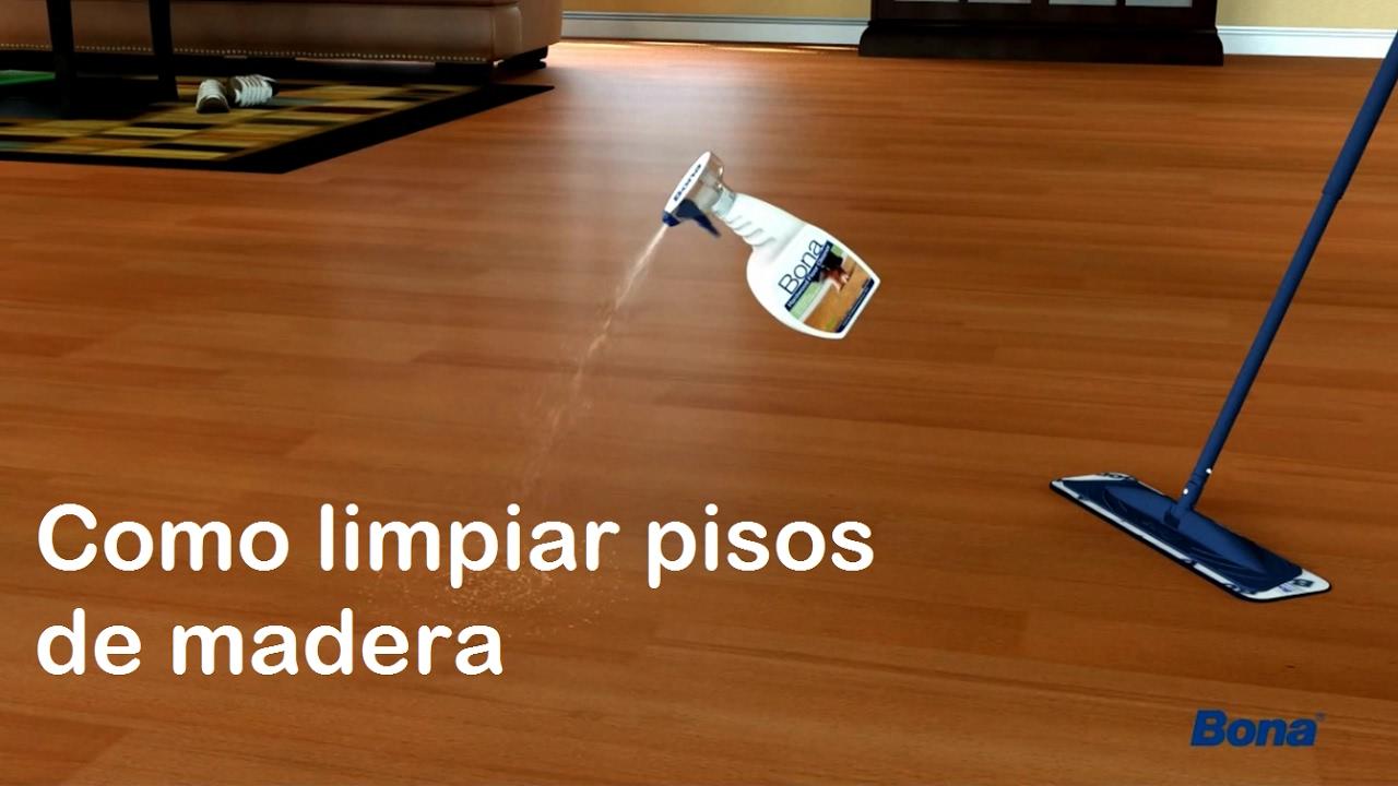 Limpiador de pisos como limpiar pisos de madera youtube - Como limpiar los muebles de madera ...