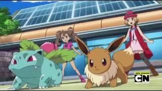 (Red) Pikachu, Blastoise VS Eevee, Ivysaur