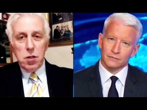 CNN: Poor Anderson Cooper Seems Genuinely Confused By Jeffrey Lord's Bizarre Behavior