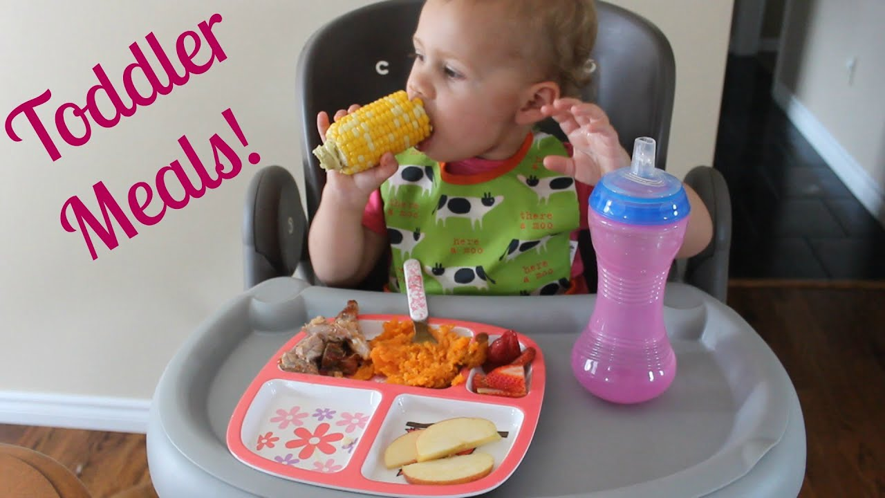 toddler meals what i feed my 19 month old youtube