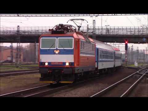 Vlaky ve ČD stanici Bohumín