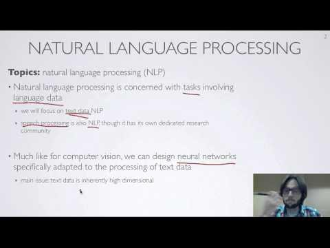Neural networks [10.1] : Natural language processing - motivation