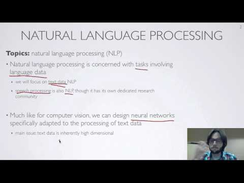 Neural networks [10.1] : Natural language processing - motivation