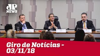 Giro de Notícias - 03/11/18