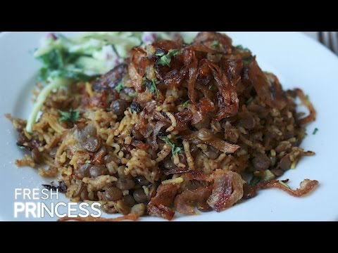 Mejadra: Lentils & Rice - Yotam Ottolenghi's Recipe from 'Jerusalem'  |  Fresh P