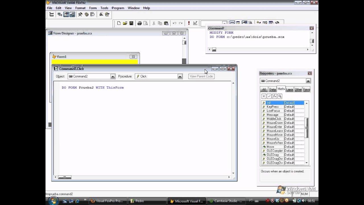 Form com parameters , Passar dados do form2 para o Form1 - YouTube