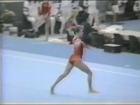 1989 World Gymnastics Championships - Women's Team Optionals, United States (SI HV)