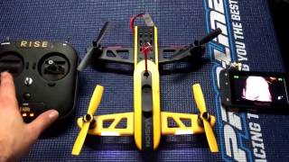 How Too - Bind Calibrate/Stabilize - RISE VISION 250 FPV Quadcopter RTF