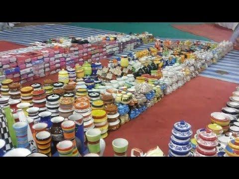 Fair Shop in India -  Beautiful Ceramic Pots Painting Designs For Decoration