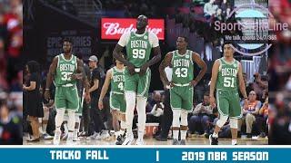Tacko Fall Intro and  2019/20 Season Highlights   NBA