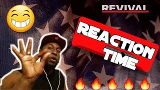 eminem- river ft. Ed sheeran (official audio) [REACTION VIDEO]