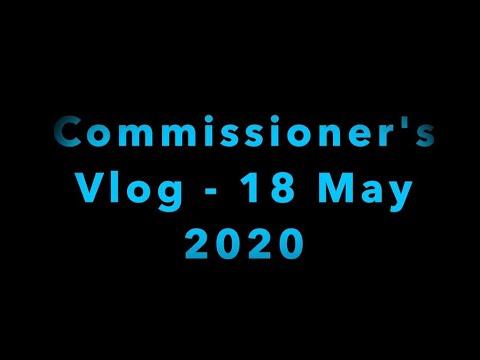 Poster image Covid 19 Vlog - 18 May 2020