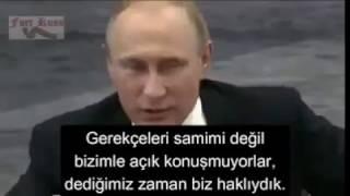 Size masallar anlatıyorlar: Putin'in gerçekleri anlattığı anlar..   3. dünya savaşı