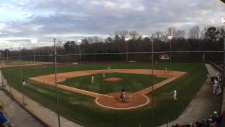 Chattanooga State baseball at West Georgia Technical College 2/17/2018