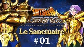 Saint Seiya Soldiers' Soul - Le Sanctuaire - Episode 1