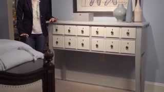 Paula Deen Home River House Apothecary Console By Universal Furniture
