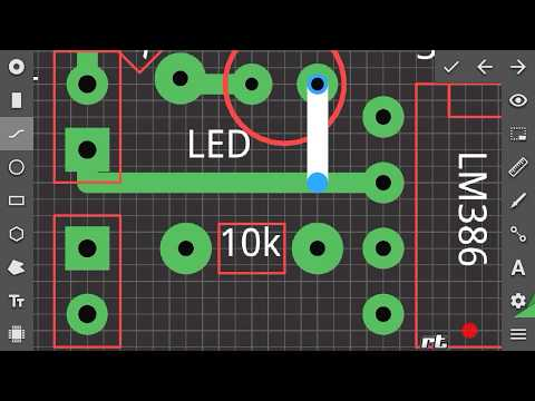 How To Make Pcb Design On Android Youtube