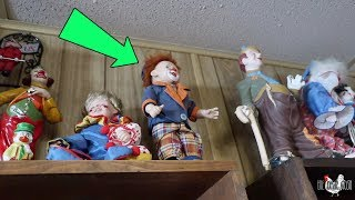 MY HAUNTED CLOWN DOLL HAS A NEW HOME