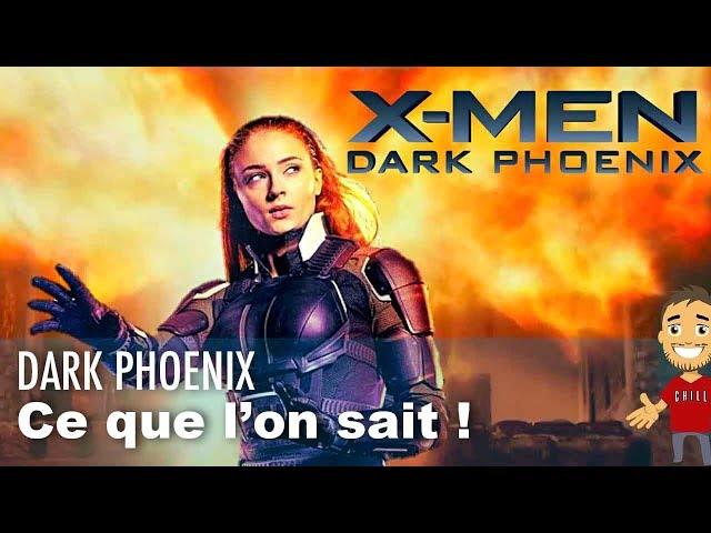 La chaine du geek x-men dark phoenix : ce que les images devoilent de l'histoire !