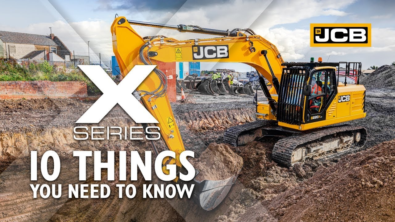 JCB X Series Tracked Excavator – 10 Things that you need to know