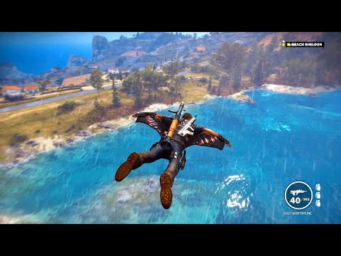 Just Cause 3 [Part 16] - Breaking Physics, Military Bases, and the Game Itself...