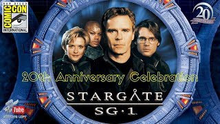 SDCC 2017 STARGATE SG-1 20TH ANNIVERSARY