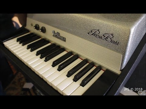 1972 Fender Rhodes Piano Bass