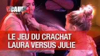 Round 4 - Julie et Laura se crachent de l