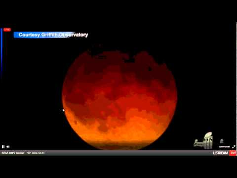 Eclipce Lunar 14/04/14, eclipce rojo, Luna de Sangre - Luna totalmente roja, face completa