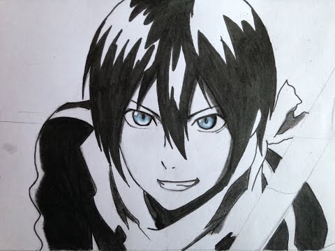 How To Draw Yato (Noragami)
