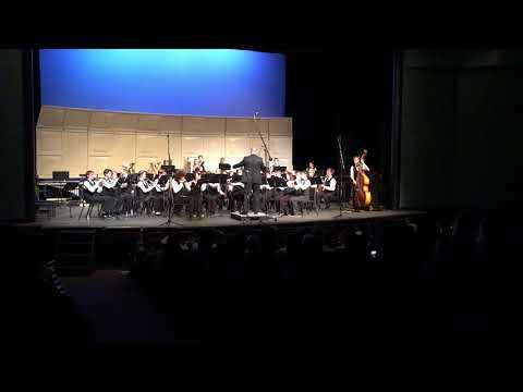 Westview High School December Concert 2017 Symphonic Band - Symphonic Suite from Star Trek