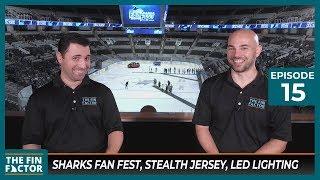 Sharks Fan Fest, Stealth Jersey, LED Lighting (Ep 15)