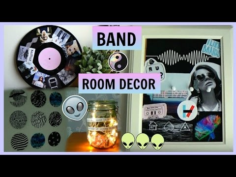 DIY BAND/MUSIC ROOM DECOR 👽 diys for fans!