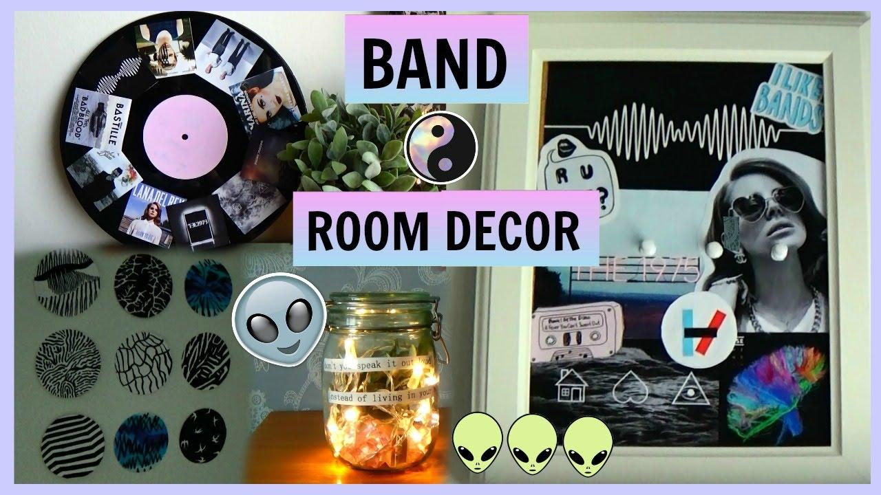 Diy Band Music Room Decor 👽 Diys For Fans Youtube