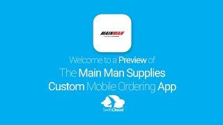 Main Man Supplies - Mobile App Preview - MAI319W