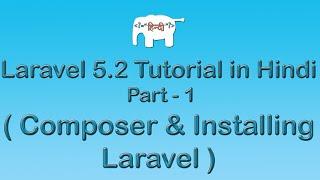 Laravel 5 Tutorial for Beginners in Hindi ( Composer & Installing Laravel ) | Part-1