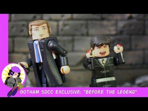 "Minimates Gotham San-Diego Comic-Con 2015 exlusive ""Before The Legend"" Review"
