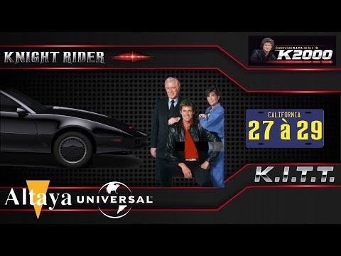 K2000 1/8 N°27à29 Altaya Comment construire K.I.T.T