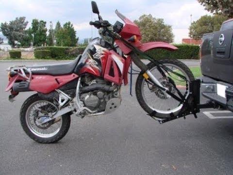 Универсальное крепление мотоцикла на фаркоп #буксировкамотоцикла