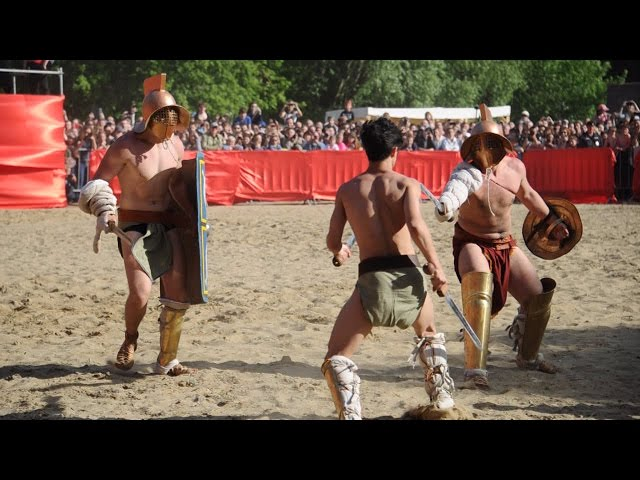 """Международный исторический фестиваль """"Времена и эпохи: Древний Рим"""""""